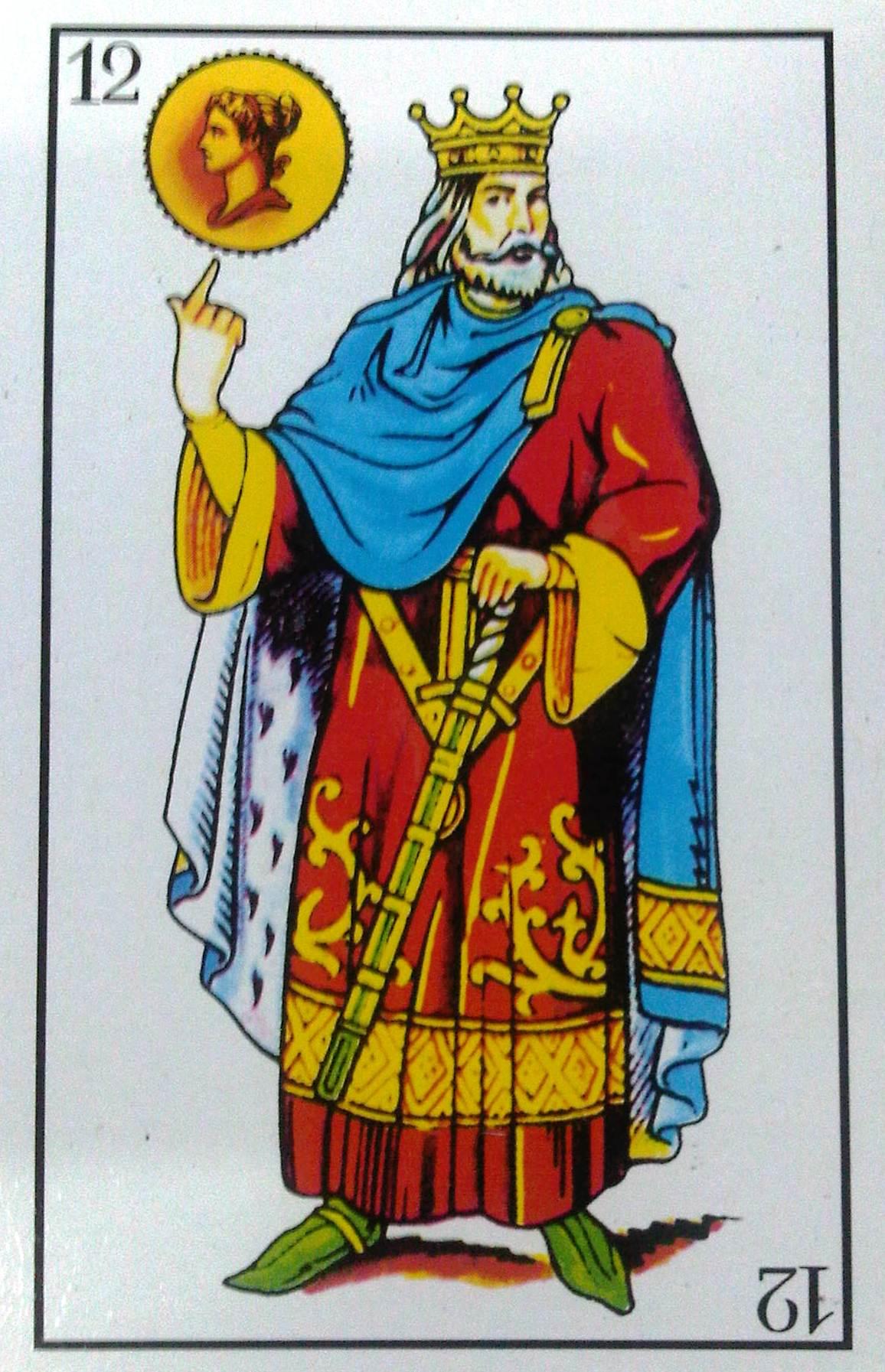 El rey de oro conociendo la baraja espa ola - El rey del tresillo ...