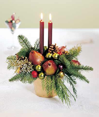 Centro de mesa navidad 3 wiccareencarnada - Centros de mesa navidad ...