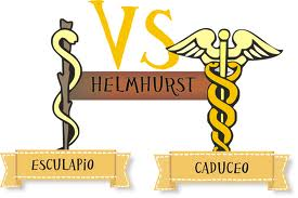 caduceo vs esculapio