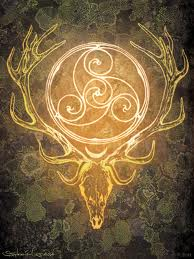fire element druid stag