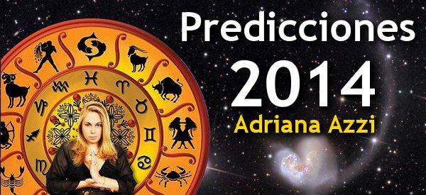 Adriana Azzi , predicciones , predicciones 2014 , Venezuela