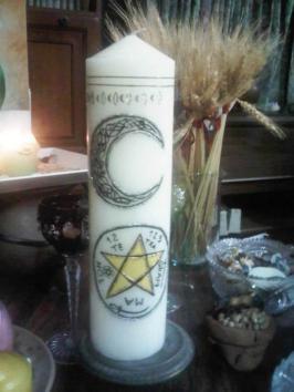 Vela de Altar Luna