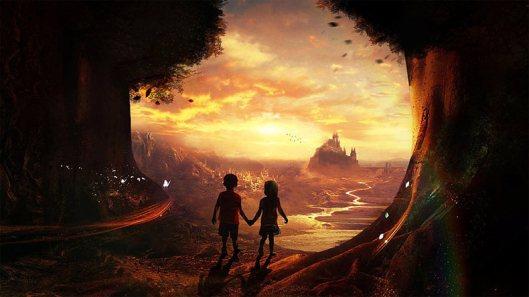 Resultado de imagen para paisaje surrealista de amor