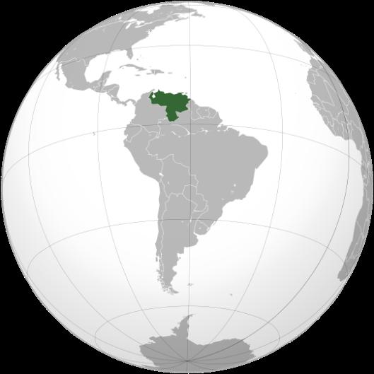 Resultado de imagen para venezuela en el globo terraqueo