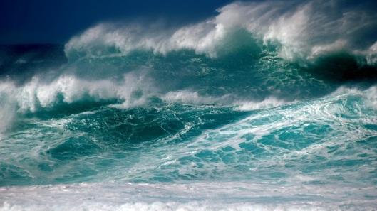 sea-storm-waves-foam-sky-1080P-wallpaper