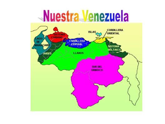 Resultado de imagen para mapa de venezuela con relaciones comerciales